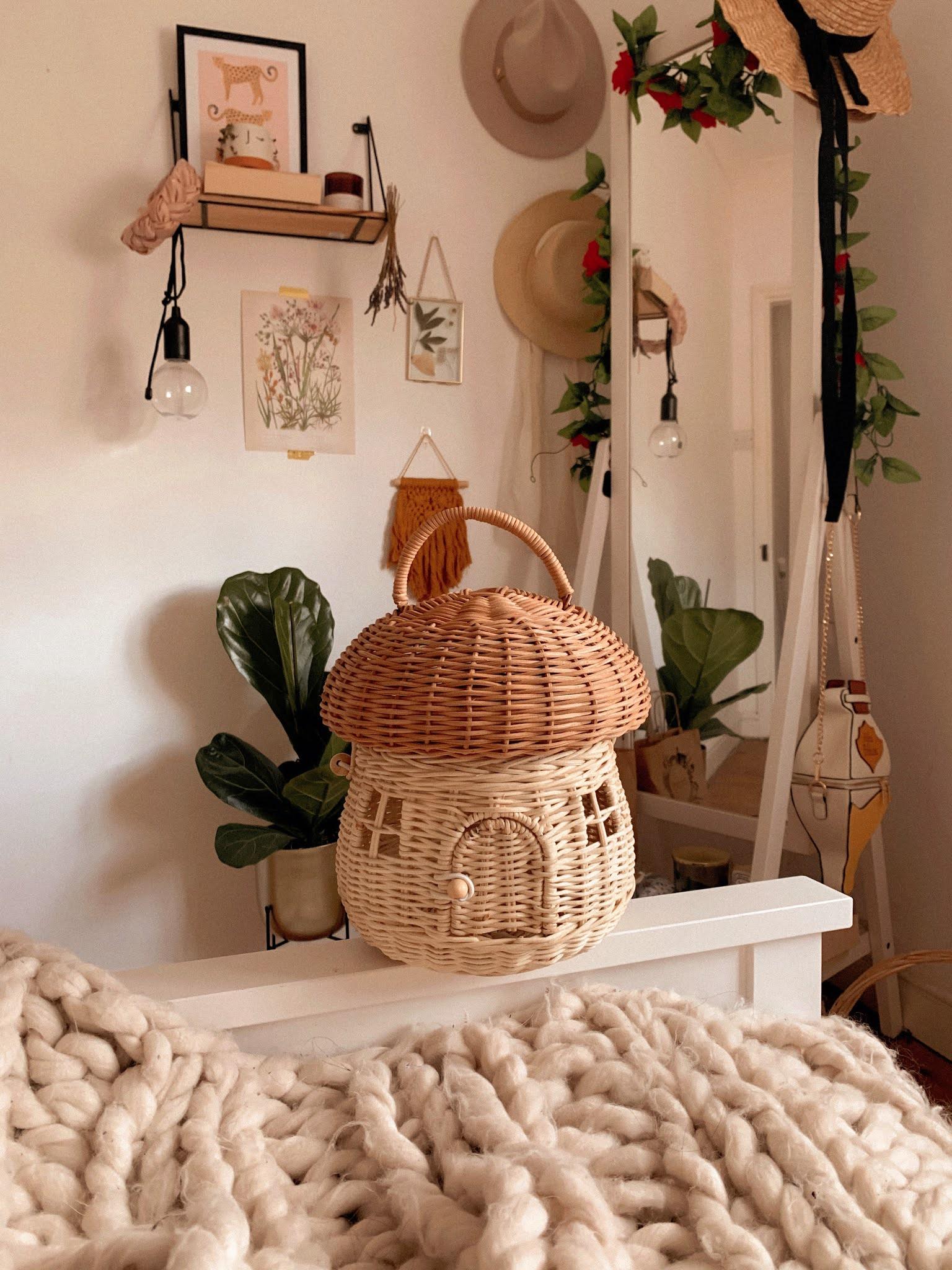 Cottage Core Mushroom Bag Olli Ella