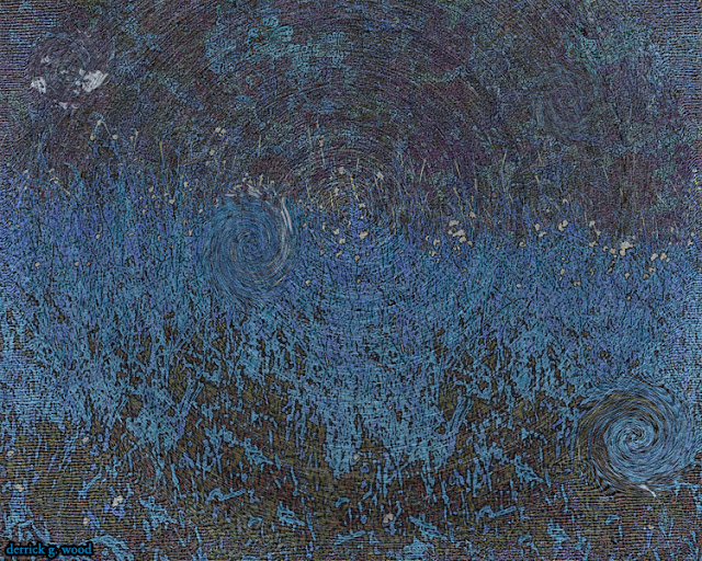 abstract art puddles water pond lake rain drops droplets raindrops