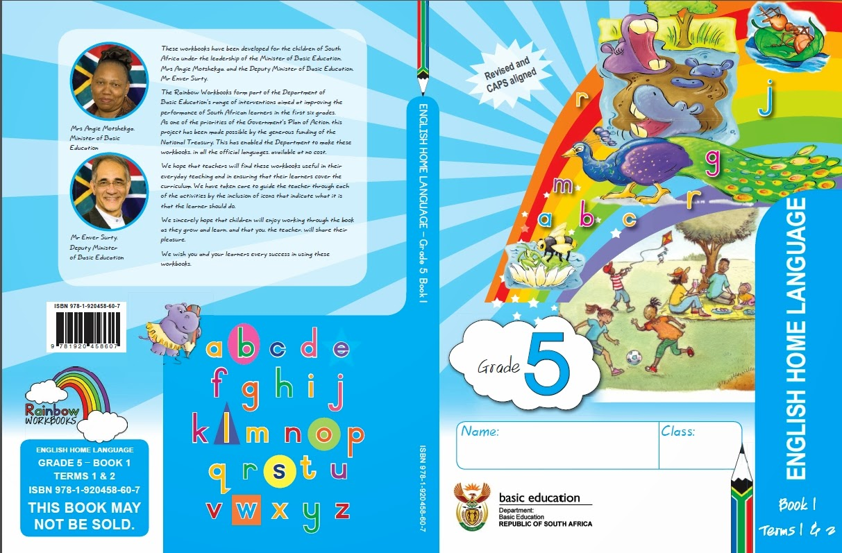 English Workbook For Grade 5