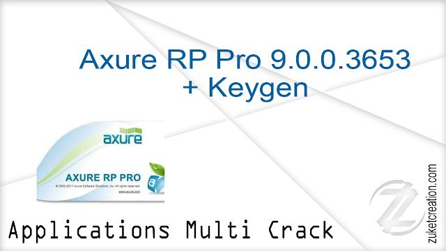 Axure RP Pro 9.0.0.3653 + Keygen   |   99 MB