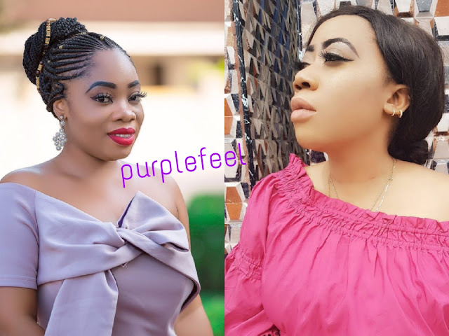 Actress Moyo Lawal Vs Actress Moesha Boduong