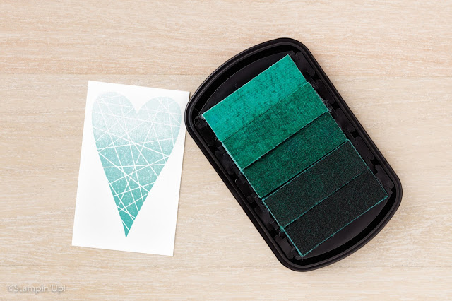 Bermuda Bay Ombre Stamp Pad, Stampin' Up!