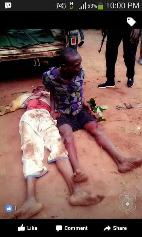 Man stabs his father to death over misunderstanding in Anambra