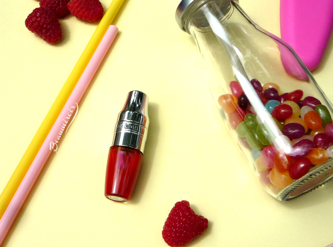 New Lancome Juicy Shaker lip oil in Bohemian Raspberry: review, photos, swatches!
