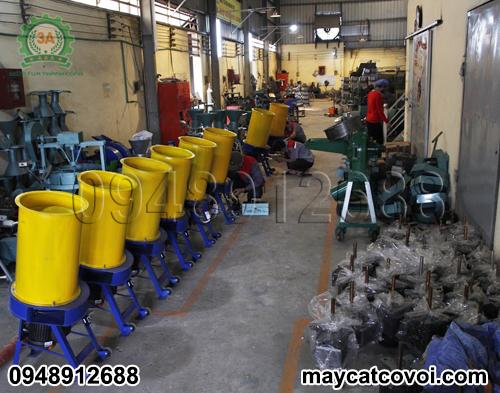 Xưởng sản xuất Máy băm vỏ dừa, rơm rạ, ván bóc 3A3Kw
