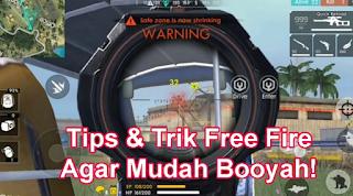Tips dan Trik Booyah Free Fire