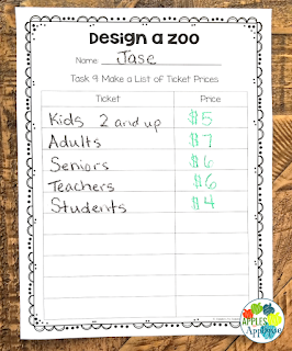 Design a Zoo: Project Based Learning   Apples to Applique