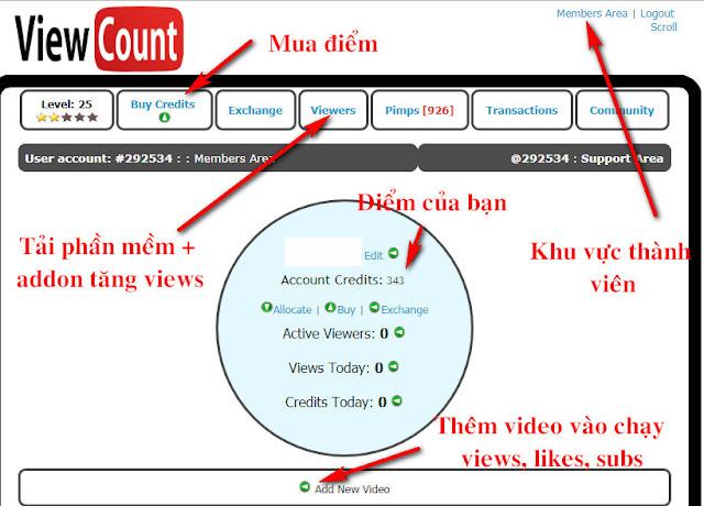 Hướng dẫn tăng Sub, Like views YOUTUBE MIỄN PHÍ vs VAGEX Auto Subscribe với Phần mềm Vagexviewer