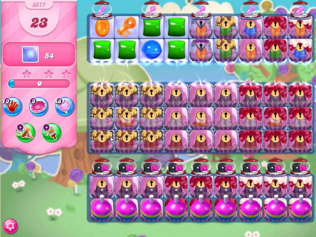 Candy Crush Saga level 3577