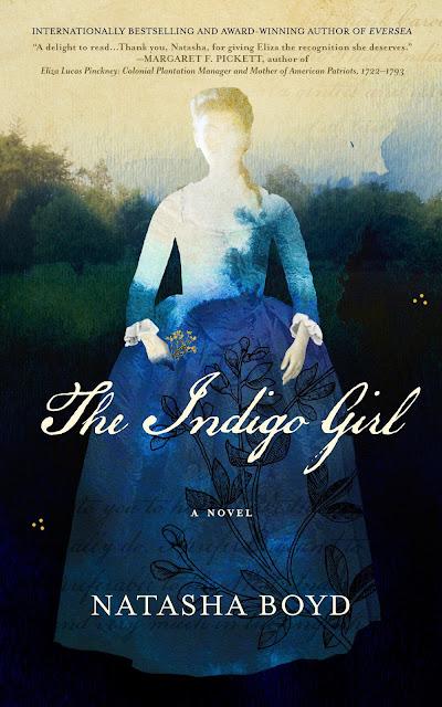 Cover Reveal: The Indigo Girl by Natasha Boyd