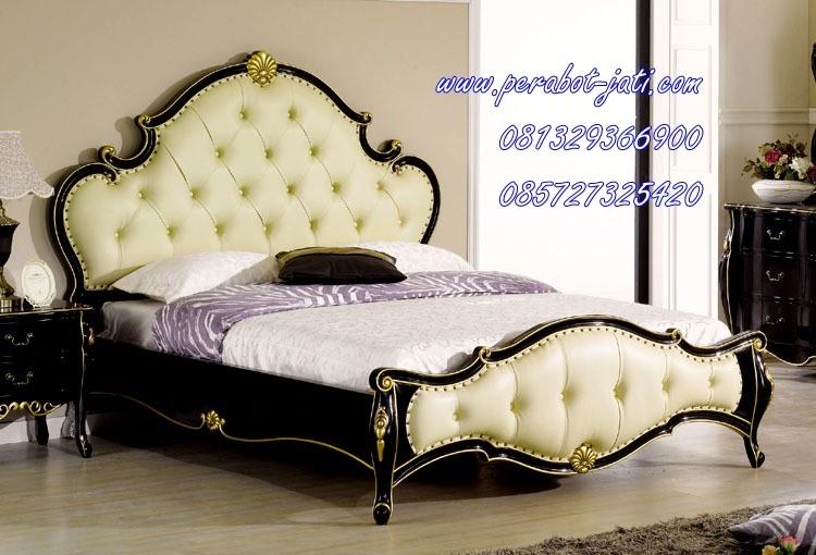 model tempat tidur ukiran jepara 1