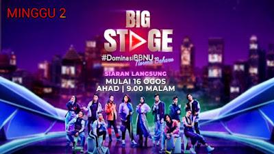 Live Streaming Konsert Big Stage 2020 Minggu 2