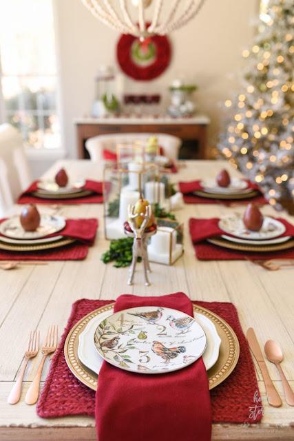 5 idee per apparecchiare la Tavola di Natale