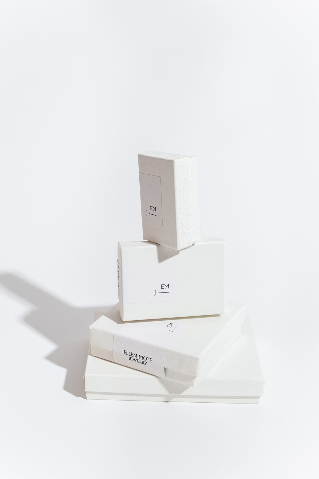 Example of smaller rigid packaging box