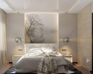 pequeño dormitorio moderno