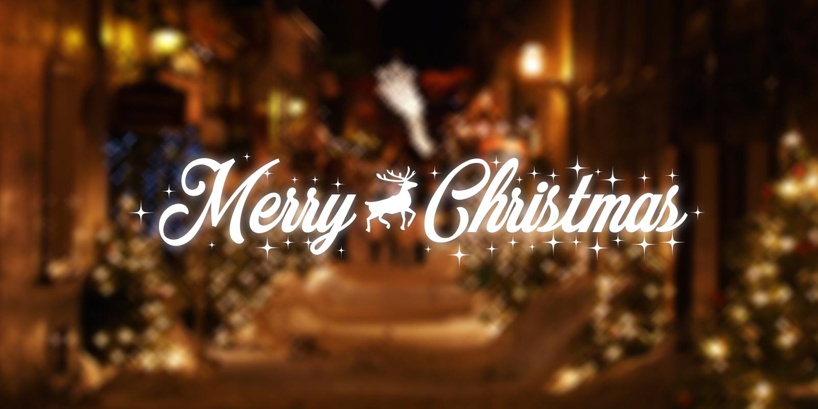 merry christmas noel calligraphie