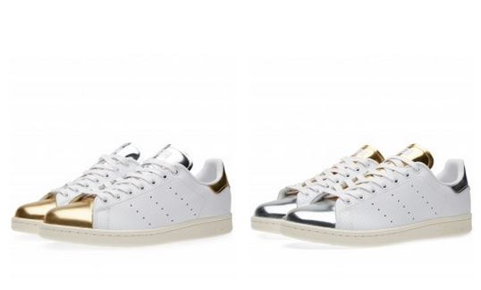 adidas Originals Stan Smith  Mid Summer Metallic  Sneaker Pack Available  Now (Images) 92477056ebb7
