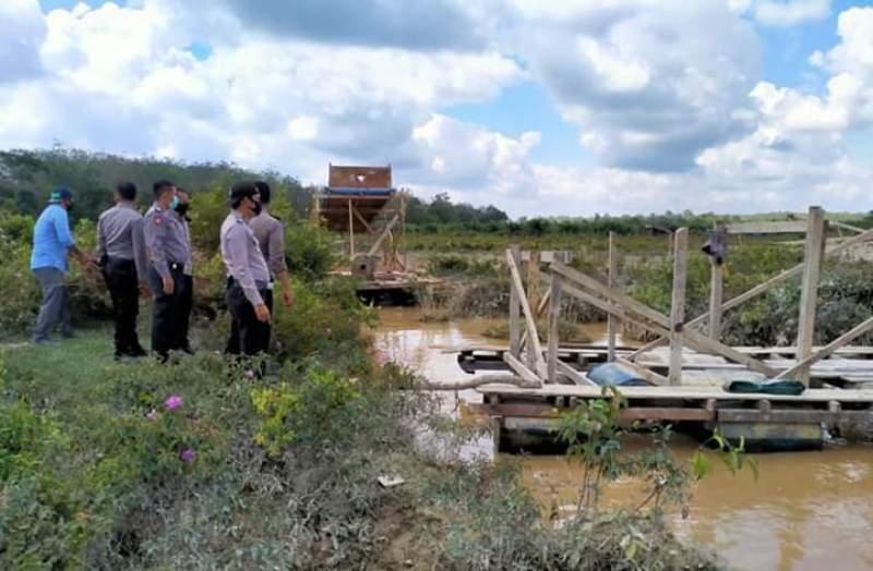 Meresahkan, Warga Minta Aparat untuk Menertibkan Pertambangan Tanpa Ijin yang Berada di Desa Munsalo