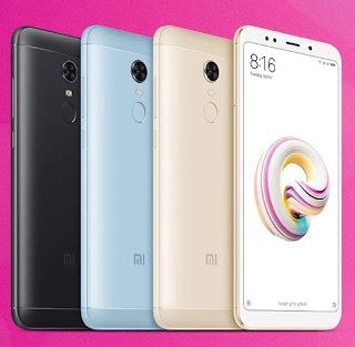 Xiaomi Redmi 5 Plus tersedia dalam 4 plilihan warna