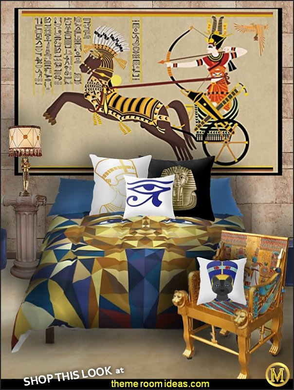 egyptian bedoom egyptian bedding egyptian furniture egyptian pillows egyptian wallpaper mural