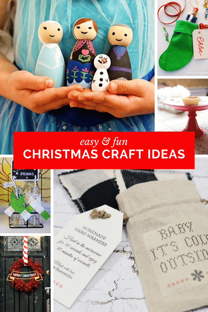 crafts for Christmas, easy Christmas craft ideas, Christmas crafts for kids, Christmas crafts for adults