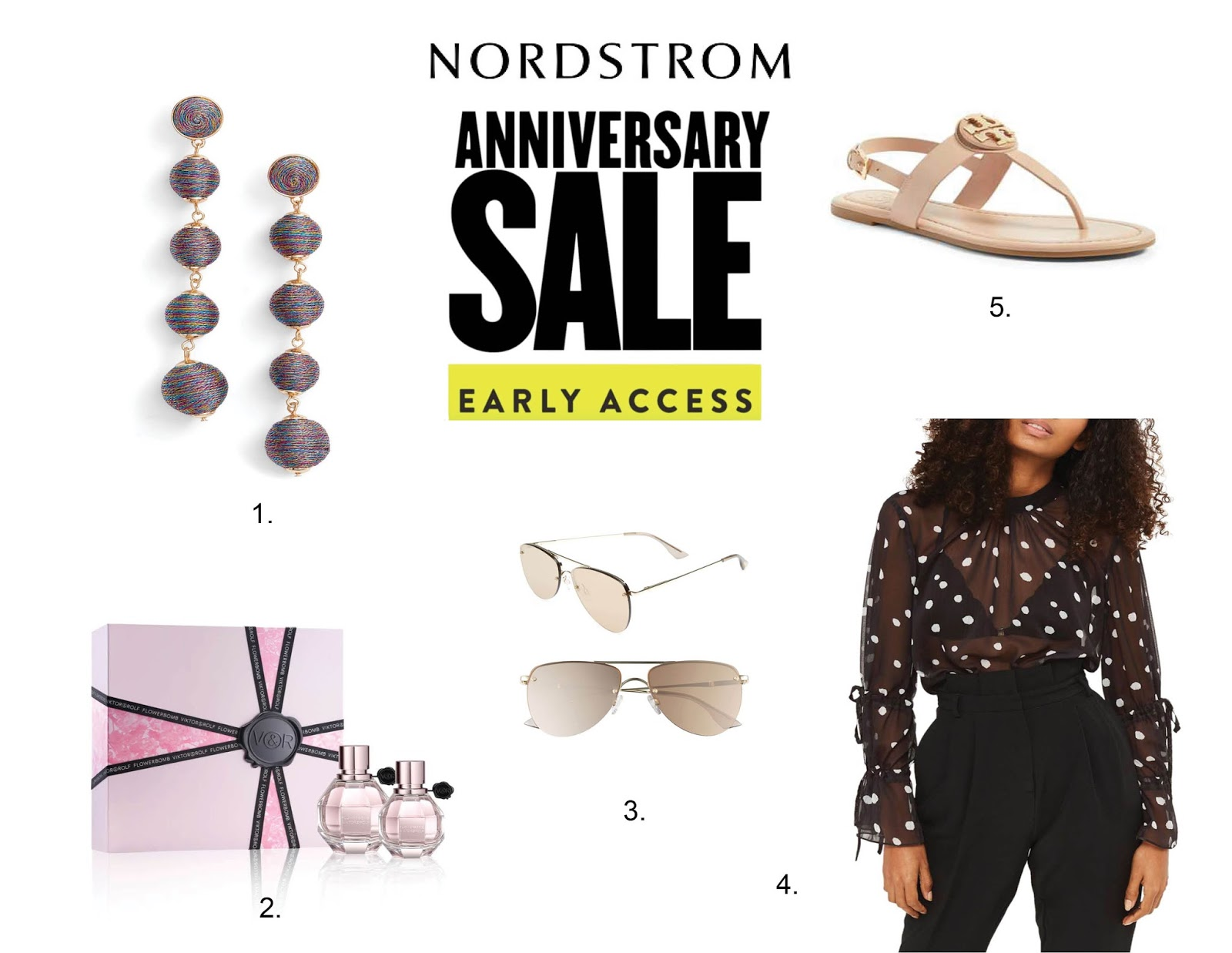 My Top Five Nordstrom Sale Picks