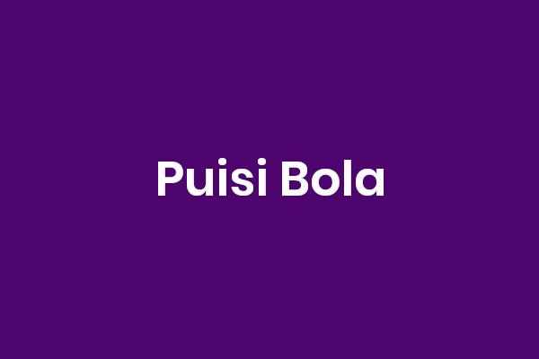 Puisi Bola