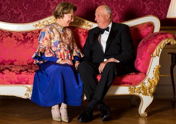 Crown Prince Haakon, Crown Princess Mette-Marit, Princess Märtha Louise and Princess Astrid