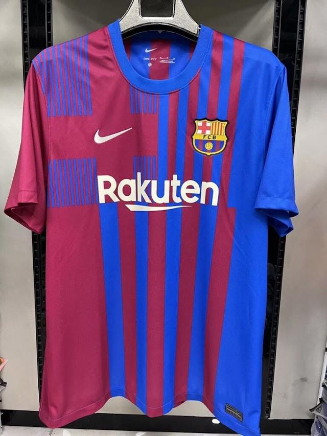 [LEAKED] FC Barcelona 21-22 Home Kit