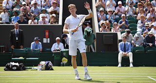 Kevin Anderson Wimbledon third round press conference