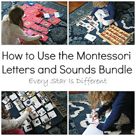 How to Use the Montessori Letters and Sounds Bundle