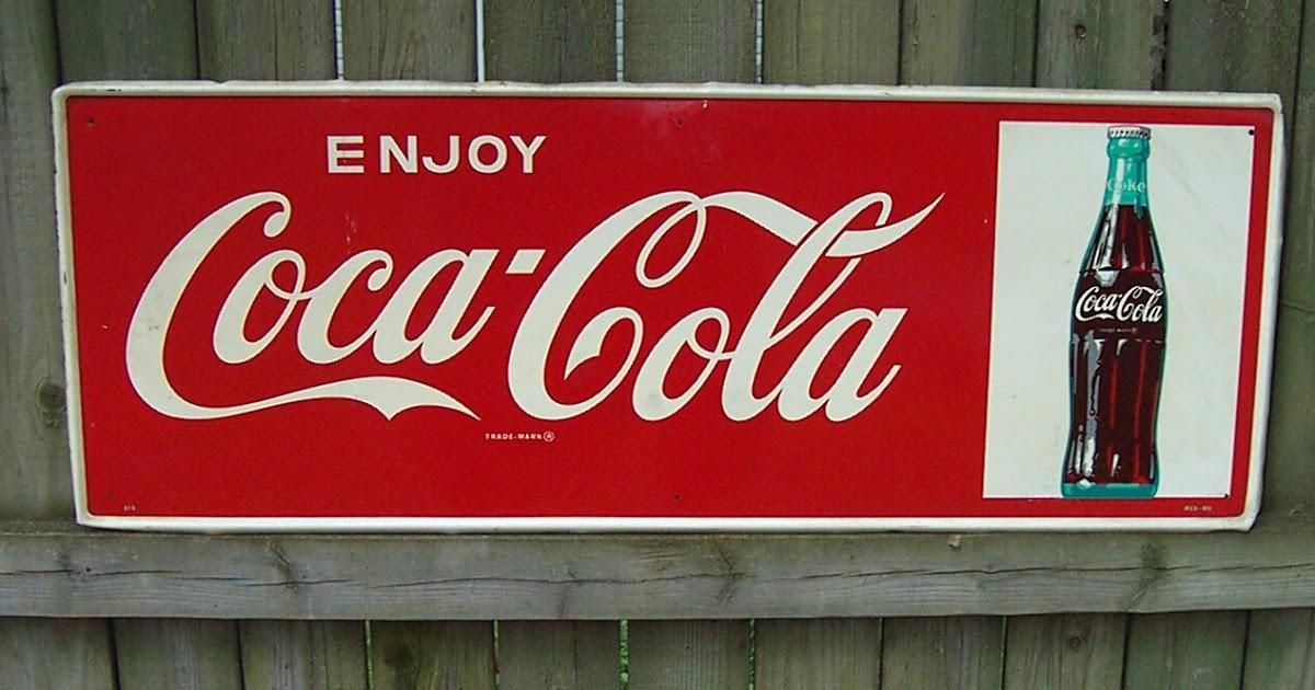 Money in the Garage Vintage Coca Cola Collectibles  It