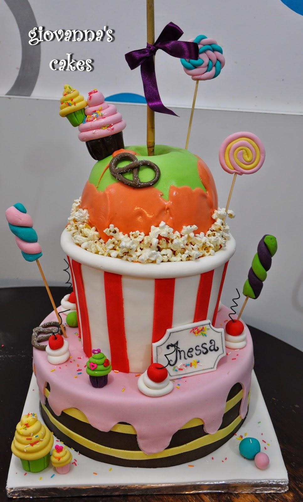 Giovanna S Cakes Turning 15 Birthday Cake
