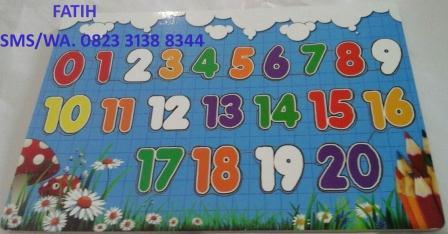 Game Puzzle Kayu Angka