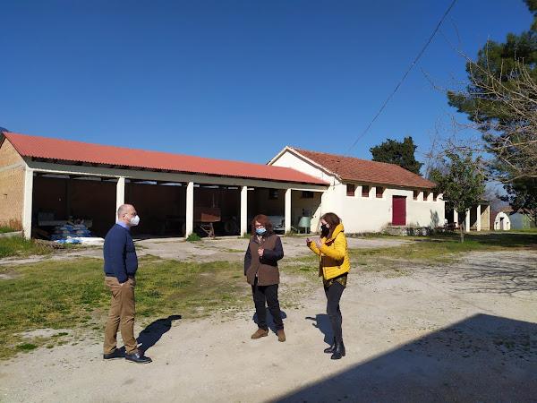 Επίσκεψη του Υφυπουργού Αγροτικής Ανάπτυξης και Τροφίμων, Γιάννη Οικονόμου στο κέντρο ΔΗΜΗΤΡΑ στις Βαρδάτες