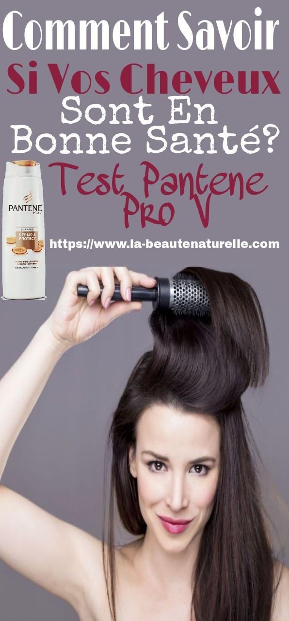 Comment Savoir Si Vos Cheveux Sont En Bonne Santé? Test Pantene Pro V