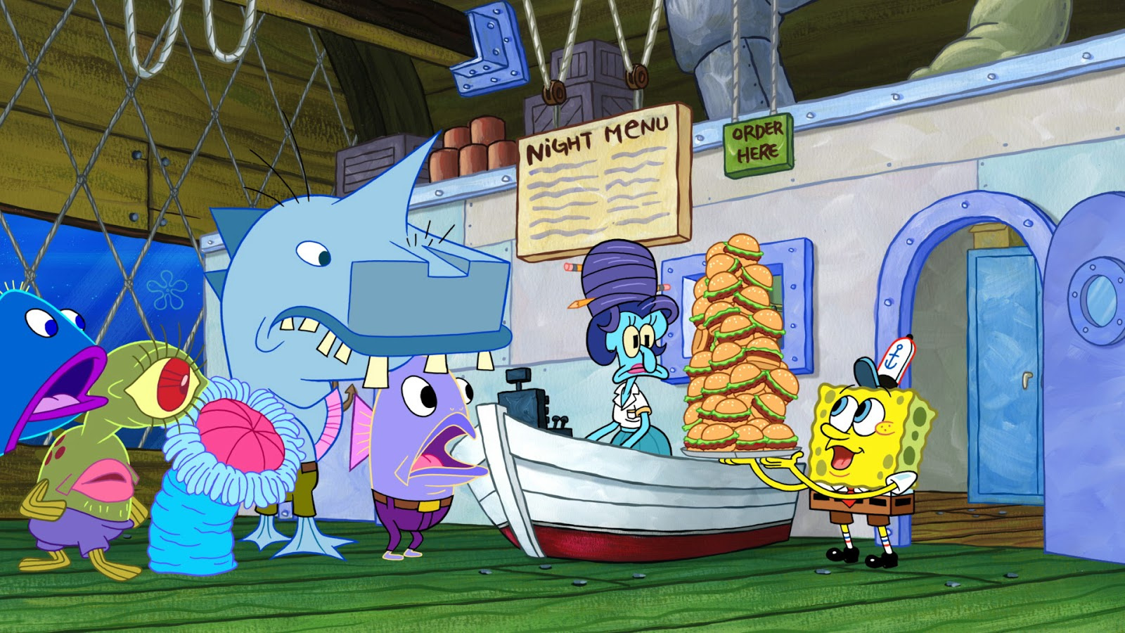 nickalive!: nickelodeon usa to premiere new episodes of 'spongebob