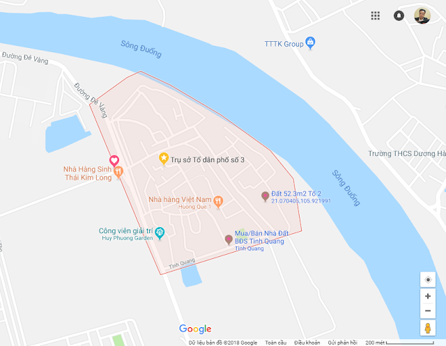 Vị Trí Tình Quang
