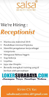 We Are Hiring at Salsa Beauty Centre Surabaya Terbaru November 2019