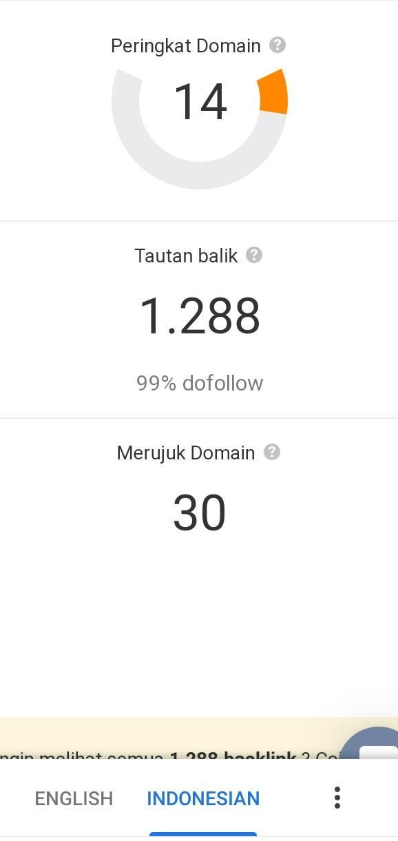 cara meningkatkan domain rating
