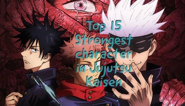 Strongest Characters of Jujutsu Kaisen