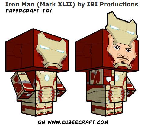 iron man mark 42 pepakura pdf