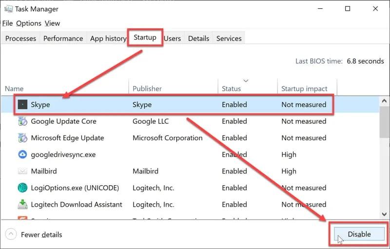 طريقة وضع البرامج في سكون على نظام التشغيل ويندوز 10