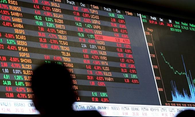 Bolsa registra queda de 1,97% devido a proposta de tributar dividendos