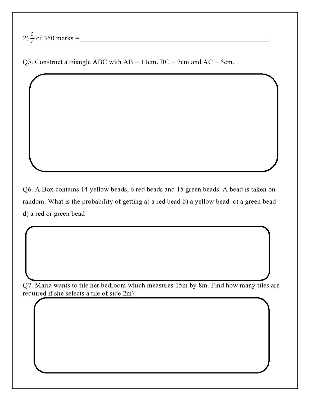medium resolution of WORLD SCHOOL OMAN: Revision Worksheets for Grade 7 as on 09-05-2019