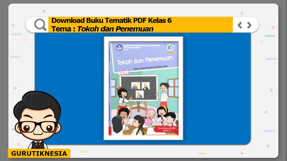download gratis buku tematik pdf kelas 6 tema tokoh dan penemuan