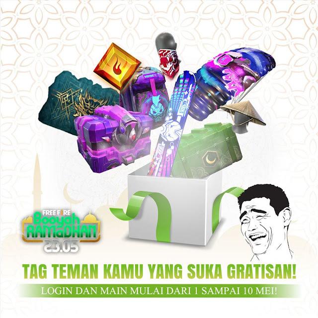 Event Booyah Ramadhan Free Fire Minggu Ke 2 Ada Awakening Shard