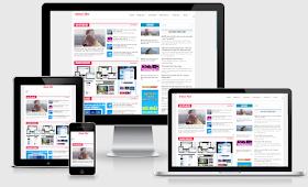 Extra News Responsive Template Blogger - Giao diện tin tức đẹp cho Blogger