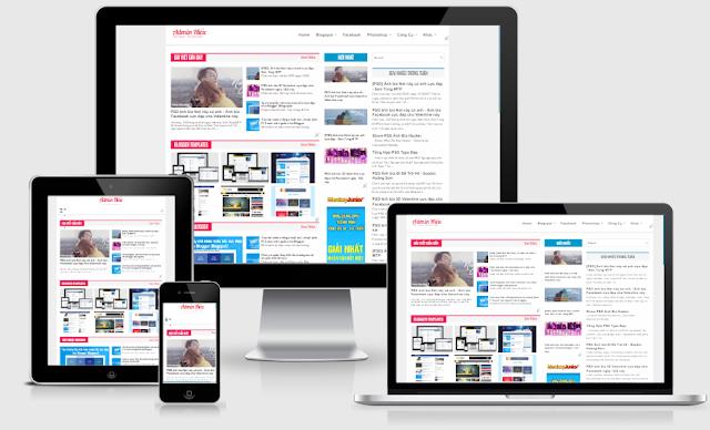 Extra News ResponsiveTemplate Blogger - Giao diện tin tức đẹp cho Blogger
