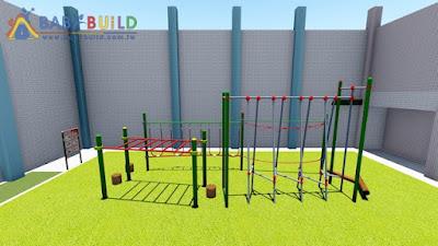 BabyBuild 遊戲場規劃示意圖